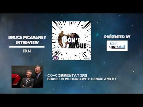 Bruce McAvaney on Cometti and BT