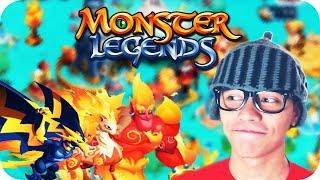 Como criar monstros - Monster Legends