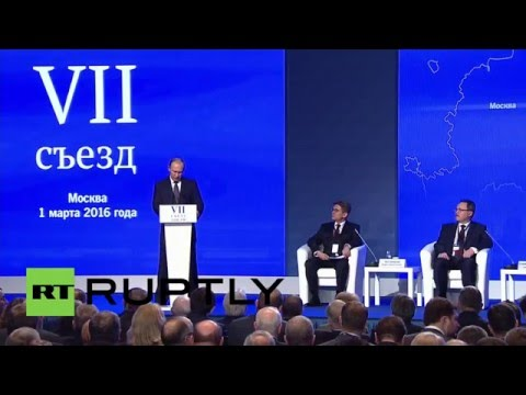 Russia: Putin calls to boost foreign investment during Chamber of Commerce address