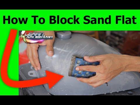 How To Block Sand Primer Flat - 3 Automotive Block Sanding Tips