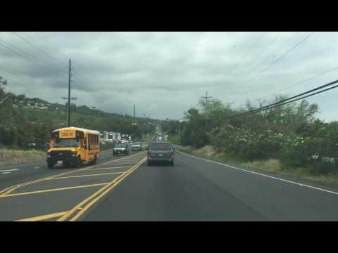 Hawaii Drive from Kailua to Kealakekua