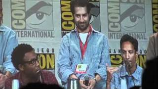 Community San Diego Comic-Con 2010 Panel with Joel McHale, Chevy Chase, Alison Brie & Cast