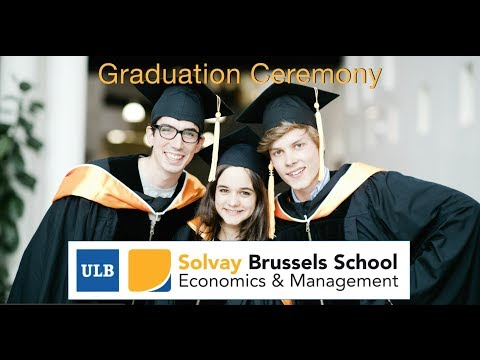 Graduation Ceremony 2013 - Solvay Brussels School of Economics and Management - ULB