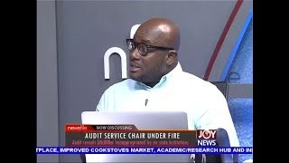 Audit Service Chair under Fire - Newsfile on JoyNews (6-10-18)