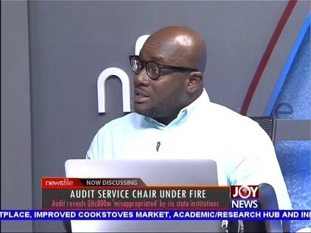 Audit Service Chair under Fire - Newsfile on JoyNews (6-10-18)