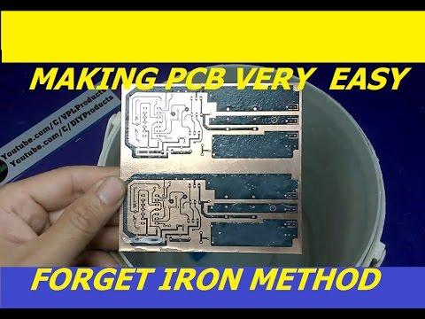pcb making very easy forget iron method printer circuit board rh youtube com Radio Wiring Diagram Light Switch Wiring Diagram
