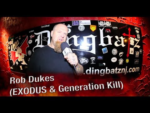 Rob Dukes Discusses NEW Music Plans For EXODUS & GENERATION KILL!