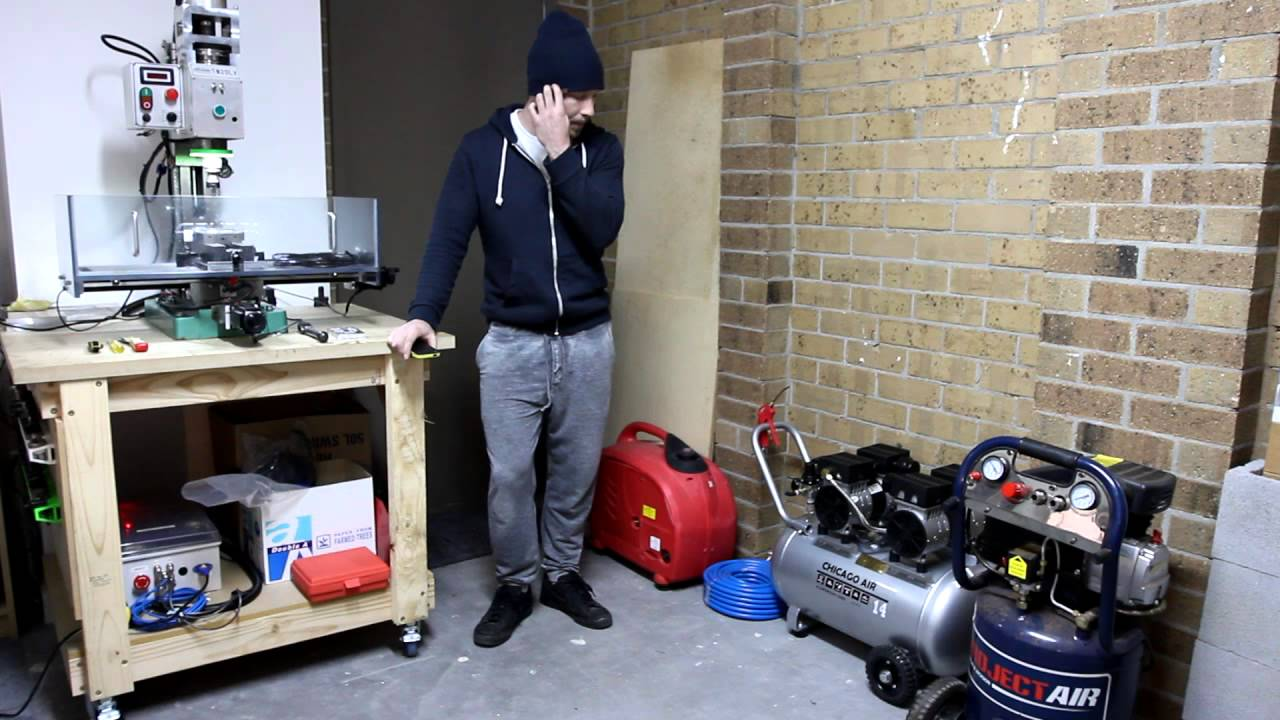 silent air compressor home workshop youtube