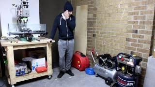SILENT Air Compressor !?!? home workshop