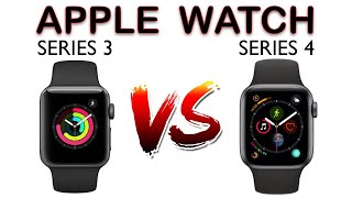 Apple Watch Series 3 vs Series 4 Comparison