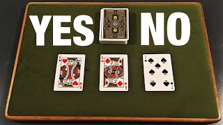 The EPIC Yes Or No Card Trick REVEALED