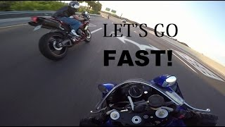 I Hope You Like SPEED! Group Ride