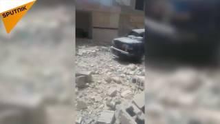 【スプートニク独占映像】ダーイシュ、イラク人らをミサイル「Jhannam(地獄)」で爆撃
