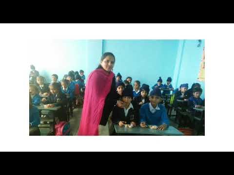 Stellar International School, Basma Students of UKG class Fruit activity