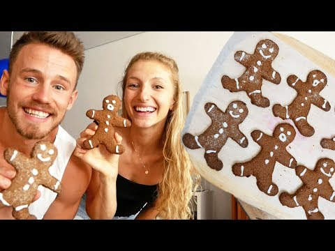 VEGAN GINGERBREAD COOKIES | Cook With Me