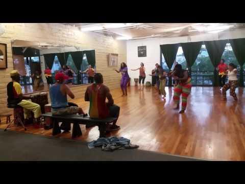 Djibril Camara West African Dance Class