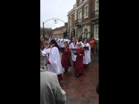 Rochester Cathedral Palm Sunday 2015 (part2)