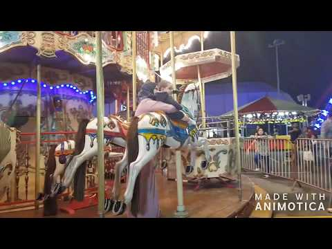 Winterland Carnival Snow Park at Yas island Du Forum Abu Dhabi UAE 2017