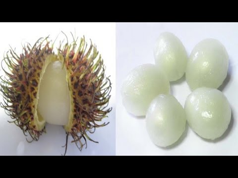 HOW TO EAT RAMBUTAN