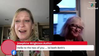 Beth Worsdell interviews dark fantasy and poetry author, Beth Hildenbrand for The Witty Writers Show