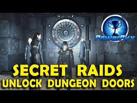 Final Fantasy XV - How to Open Locked Vault Doors in