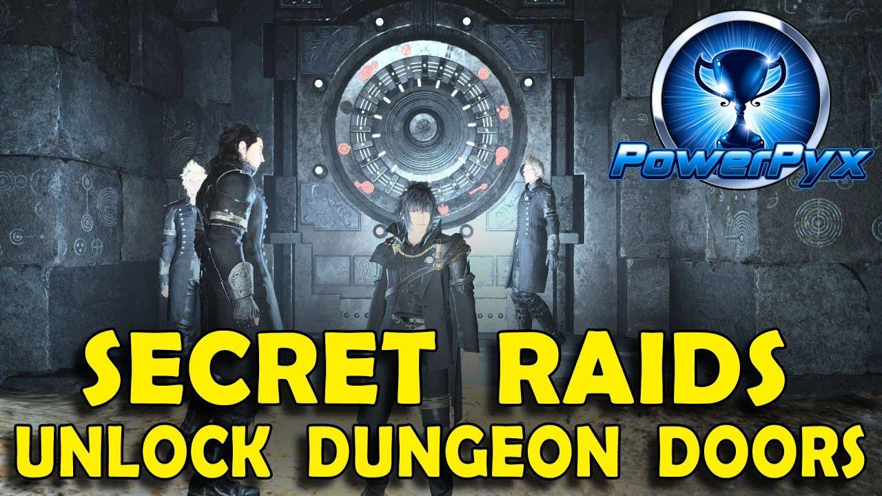 Vault Doors Ffxv Amp Final Fantasy Xv How To Open Locked