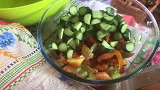 Дача / идеальный ужин / мои секреты приготовления вкусного салата