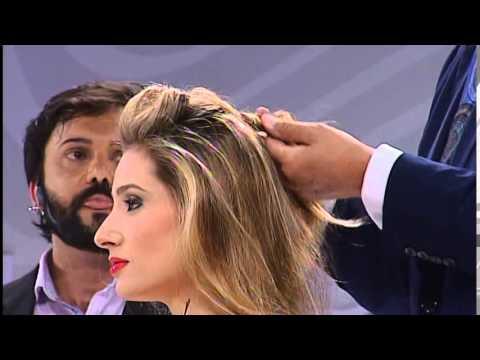 Glamour & Penteados de Martin Parsons no HAIR BRASIL FASHION SHOW 2014