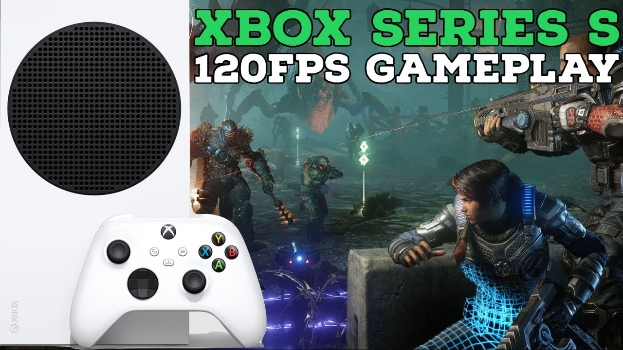 Xbox Series S Extended Gameplay Demo Of Gears 5 Running At 120 Fps Quick Resume Xbox Series S Demo Youtube