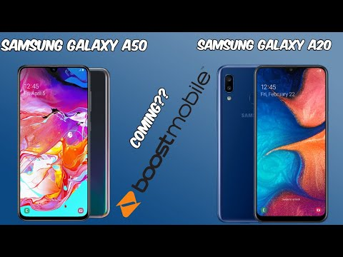 Samsung Galaxy A50 or A20 Coming to Boost Mobile?