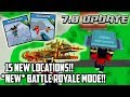 Block City Wars: The 7.0 Update Is Finally Here!!! NEW 15 Locations + Battle Royale Mode!!!