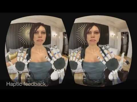 Tesla Suit | Tactile virtual meetings | T-messenger