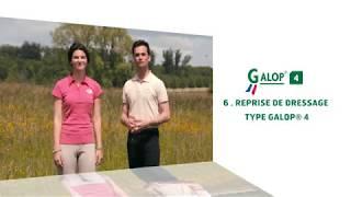 Objectif Galop® 4 : Reprise de dressage type Galop® 4