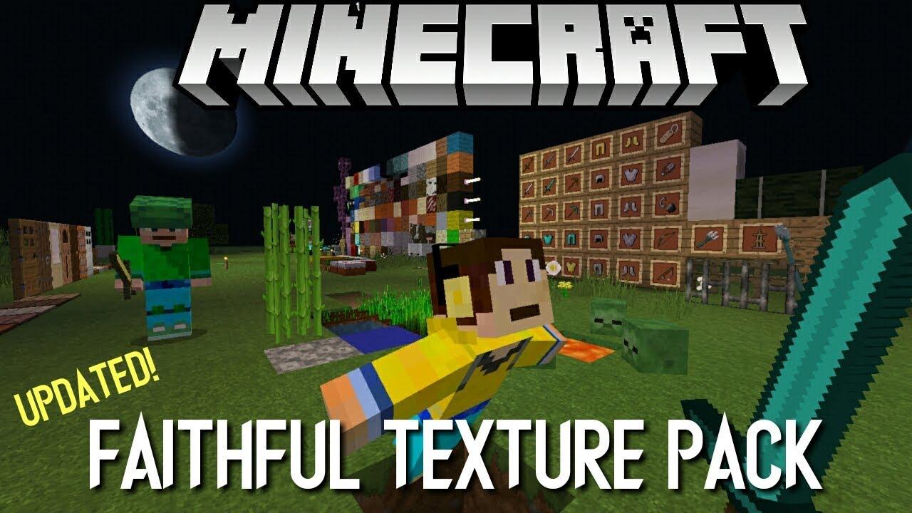 Faithful texture pack for minecraft windows 10 edition