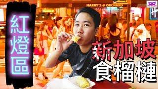 新加坡自由行食好西 - 紅燈區食榴槤? 烏節路買林志源肉乾,武吉士睇袓屋 Ep2