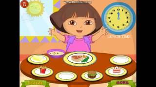 Прохождение игры Даша Следопыт. Здоровая еда. Развивающие игры для детей