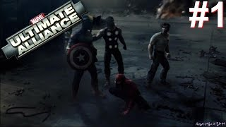 Marvel: Ultimate Alliance PS3 Gameplay #1 [2nd Giveaway Winner Announced]