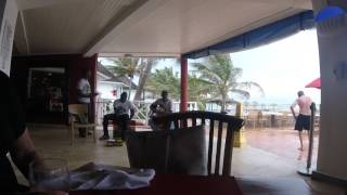 lunch time music at royal decameron beach club runaway bay jamaica