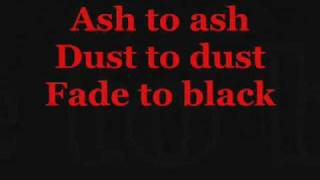 Metallica The Memory Remains Lyrics Video