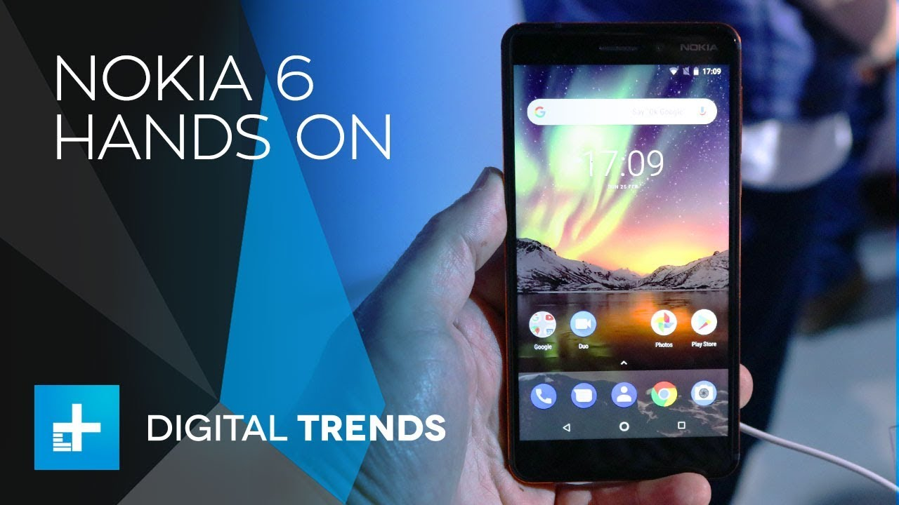 Nokia 6 – Hands On at Mobile World Congress 2018