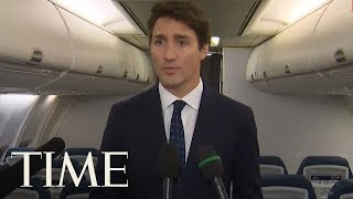 Canadian Prime Minister Justin Trudeau Apologizes For Wearing Brownface | TIME