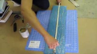 How to build a foam / latex katana style sword Tutorial part 4 of 8