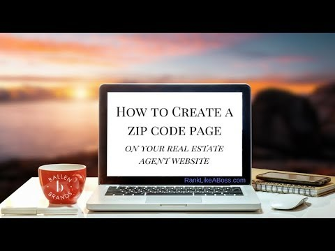How to Build a Zip Code Page for your Real Estate Agent Website in 2018 | [1:18:07]