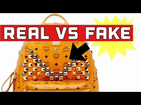 HOW TO SPOT A FAKE MCM BACKPACK | BEFORE YOU BUY AN MCM BACKPACK