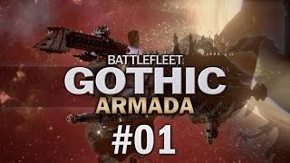 Battlefleet Gothic Armada #01 CAMPAIGN RELEASE - Let's Play