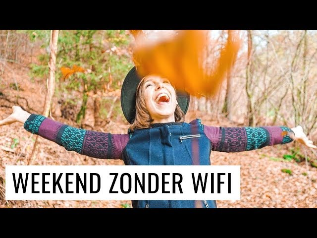 1 WEEKEND ZONDER WIFI EN SOCIAL MEDIA