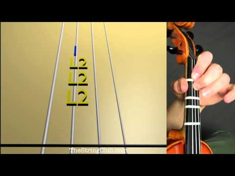 How to play What A Wonderful World on Violin