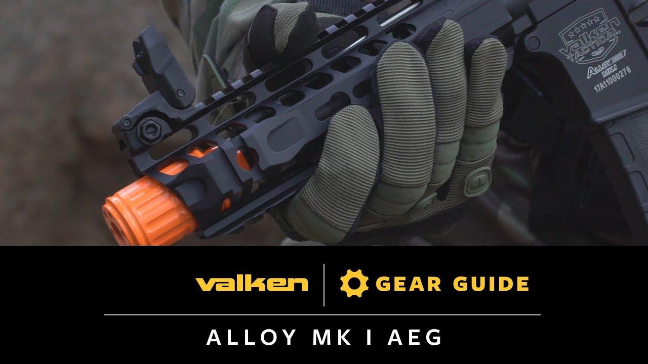 Alloy Mk. I AEG - Valken Gear Guide on