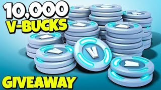 10,000 V BUCKS GIVEAWAY! HOW TO ENTER! Fortnite Battle Royale