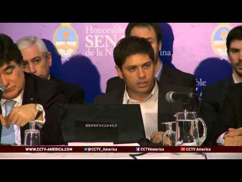 Argentina government aims to pass bill to resolve debt crisis